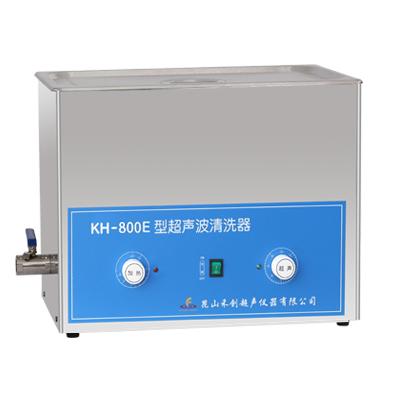 昆山禾创KH-800E旋钮式超声波清洗机