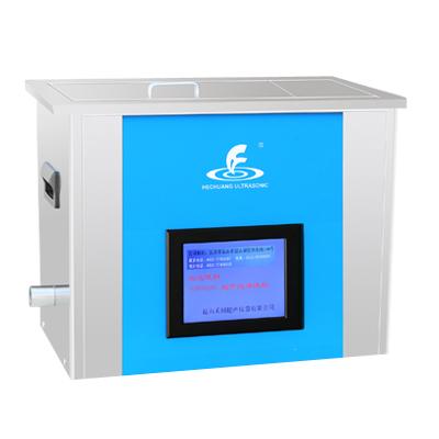 昆山禾创KH-A1000GDE恒温数控超声波清洗器