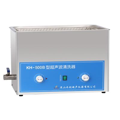昆山禾创KH-500B旋钮式超声波清洗机