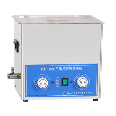 昆山禾创KH-250E旋钮式超声波清洗机