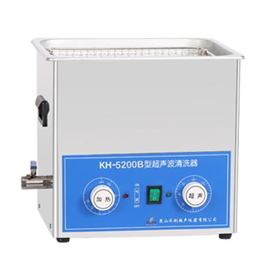 昆山禾创KH5200B旋钮式超声波清洗机