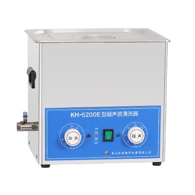 昆山禾创KH5200E旋钮式超声波清洗机