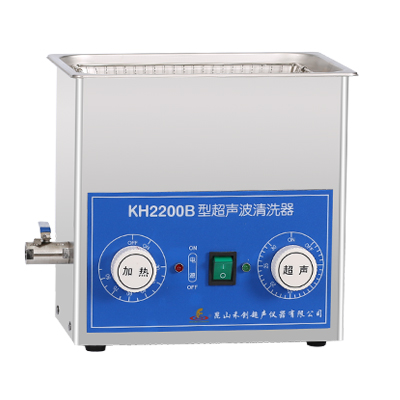 昆山禾创KH2200B台式超声波清洗器