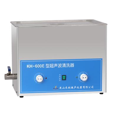 昆山禾创KH-600E旋钮式超声波清洗机