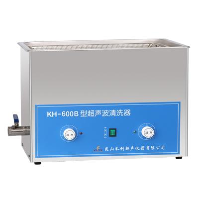 昆山禾创KH-600B旋钮式超声波清洗机