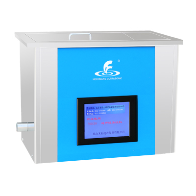 昆山禾创KH-500GDV恒温中文显示超声波清洗器